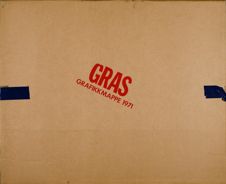 Gras mappe pakning